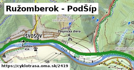ilustračný obrázok k Ružomberok - PodŠíp