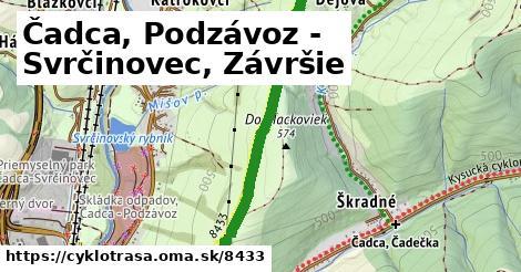 ilustračný obrázok k Čadca, Podzávoz - Svrčinovec, Závršie