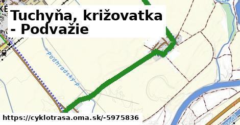 ilustračný obrázok k Tuchyňa, križovatka - Podvažie