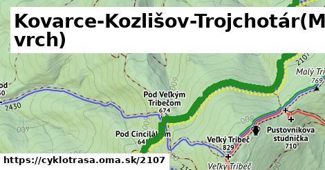 ilustračný obrázok k Kovarce-Kozlišov-Trojchotár(Mišov vrch)