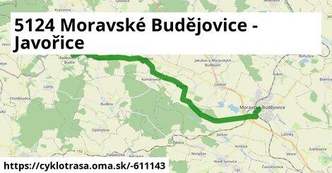 5124 Moravské Budějovice - Javořice