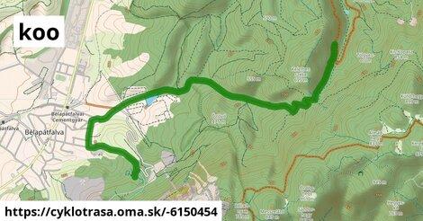 Koo Bélapátfalva - Mária-bánya MTB út