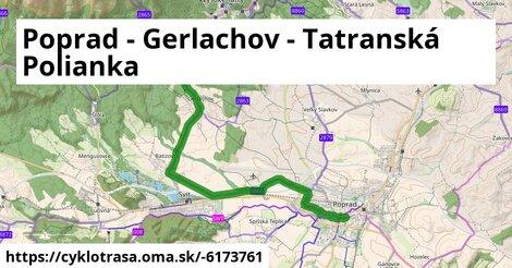 Poprad - Gerlachov - Tatranská Polianka