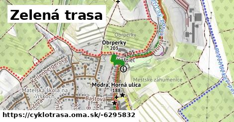 ilustračný obrázok k Zelená trasa