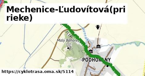 ilustračný obrázok k Mechenice-Ľudovítová(pri rieke)