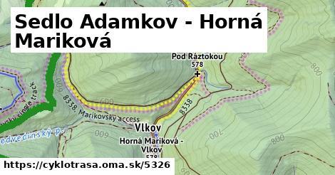 ilustračný obrázok k - Sedlo Adamkov