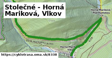 ilustračný obrázok k Stolečné - Horná Mariková, Vlkov
