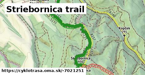 ilustračný obrázok k Striebornica trail