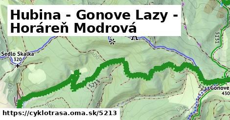 ilustračný obrázok k Hubuna - Gonové lazy - horáreň Modrová