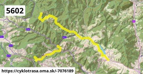 ilustračný obrázok k Kokava Línia - Klenovec - Skorušina - Ráztočno - Tri Chotáre