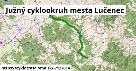 ilustračný obrázok k Južný cyklookruh mesta Lučenec