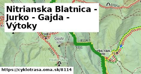 ilustračný obrázok k Rázcestie Vítoky - Gajda - Nitrianska Blatnica