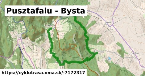 ilustračný obrázok k Pusztafalu - Bysta