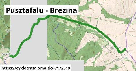 ilustračný obrázok k Pusztafalu - Brezina