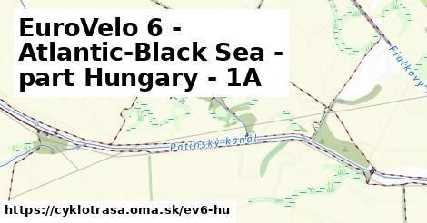 ilustračný obrázok k EuroVelo 6 - part Hungary - 1A