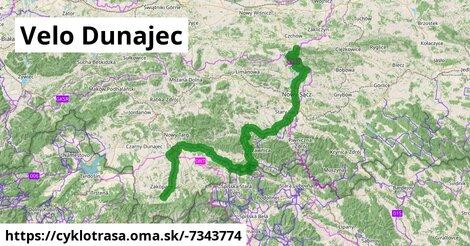 ilustračný obrázok k Velo Dunajec