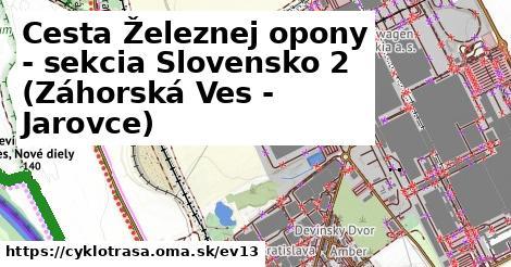 ilustračný obrázok k [EV13] Iron Curtain Trail AT/SK_2 (Záhorská Ves - Bratislava)