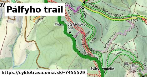 ilustračný obrázok k Pálfyho trail