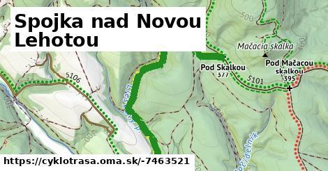 ilustračný obrázok k Spojka nad Novou Lehotou