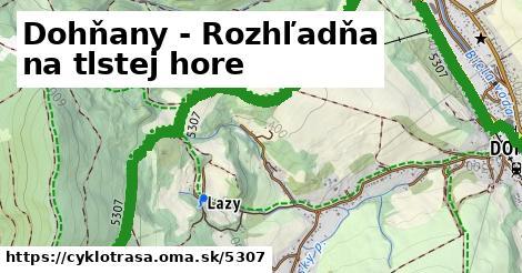 ilustračný obrázok k Dohňany - Rozhľadňa na tlstej hore