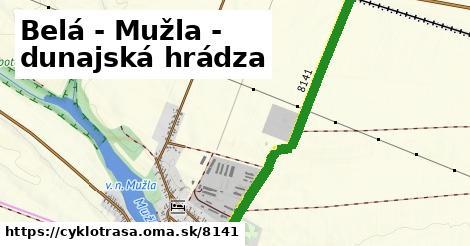 ilustračný obrázok k Belá - Mužla - dunajská hrádza