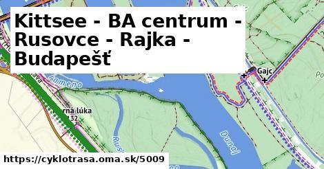 ilustračný obrázok k Kittsee - BA centrum - Rusovce - Rajka - Budapešť