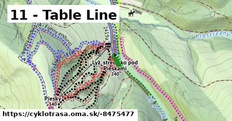 11 - Table Line