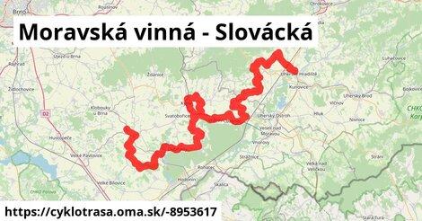 Moravská vinná - Slovácká
