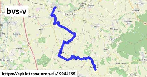 Brněnská vinařská stezka - východní