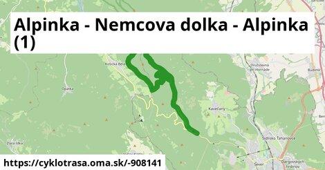 Alpinka - Nemcova dolka - Alpinka (1)