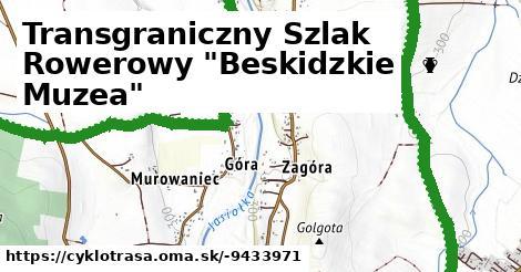 """Transgraniczny Szlak Rowerowy """"Beskidzkie Muzea"""""""