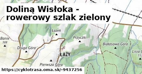 Doliną Wisłoka - rowerowy szlak zielony