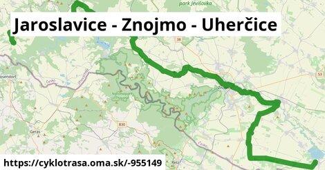 Jaroslavice - Znojmo - Uherčice