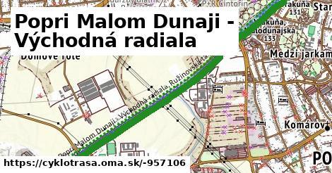 Popri Malom Dunaji - Východná radiala