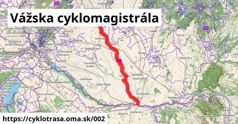 Vážska cyklomagistrála (Hlohovec - Strečno)