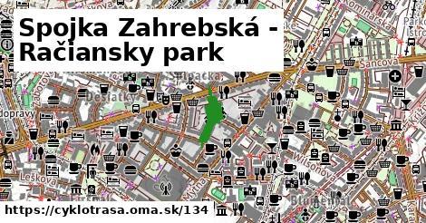Spojka Zahrebská - Račiansky park