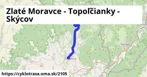 Zlaté Moravce - Topoľčianky - Skýcov