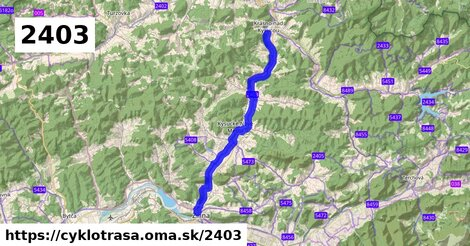 Žilina - Kysucké Nové Mesto - Krásno nad Kysucou