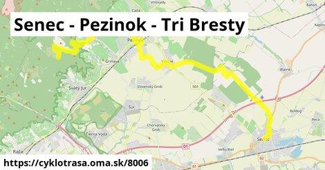 Senec - Pezinok - Tri Bresty