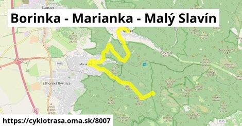 Borinka - Marianka - Malý Slavín