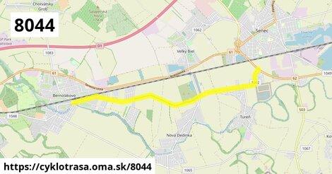 Bernolákovo (Trnavská ulica) - Senec (kruhový objazd)