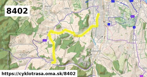 Žilina, priemyselná zóna - Brezany - Lietava