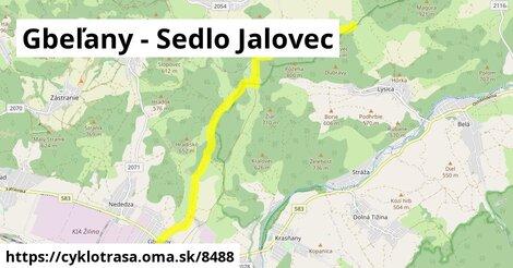 Gbeľany - Sedlo Jalovec