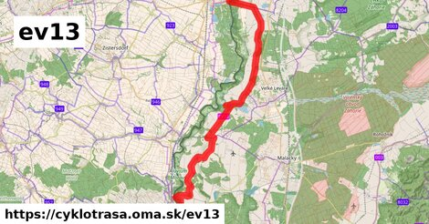 EuroVelo 13 - Cesta Železnej opony [AT|CZ]_5 (Slavonice - Hohenau an der March)