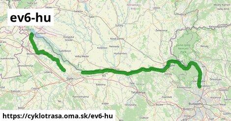 EuroVelo 6 - Atlantic-Black Sea - part Hungary - 1A