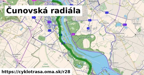 Čunovská radiála