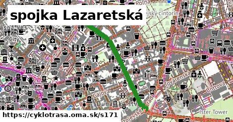 spojka Lazaretská