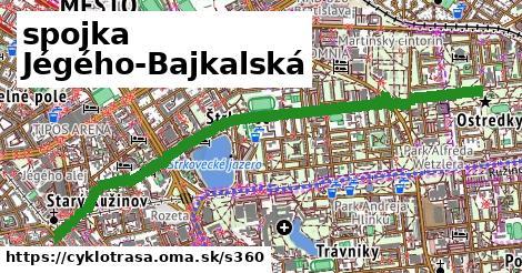 spojka Jégého-Bajkalská