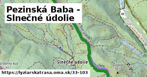 ilustračný obrázok k Pezinská Baba - Slnečné údolie