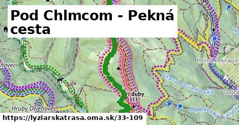 ilustračný obrázok k Pod Chlmcom - Pekná cesta